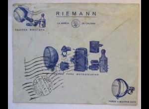 Werbung Reklame Auto Motorrad Fahrrad Lampen, Spanien 1935 (64543)