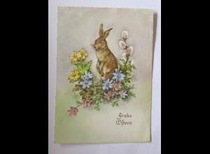 """""""Ostern, Blumen, Hase"""" 1963 ♥ (50733)"""