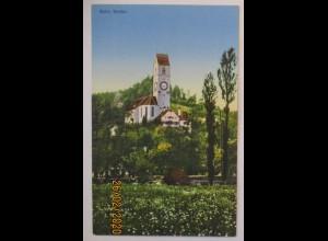 Suhr Aargau Kirche, Verlag Kleiner-Rütschi ca. 1910 (72909)