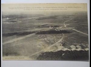 Frankreich, Camp de Chalons vom Ballon aus, ca. 1910