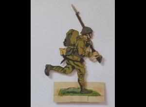 Oblaten, Soldat zum Aufstellen, 12 cm x 8 cm ♥ (29714)