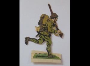 Oblaten, Soldat zum Aufstellen, 12 cm x 8 cm ♥ (44703)