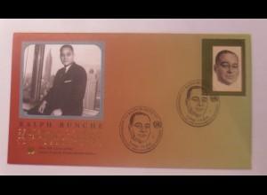 UNO Wien Ralph Bunche 100 Geburtstag 2003 FDC ♥ (72607)