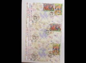 UNO Wien Wir können die Armut Beenden 2008 FDC ♥ (20843)