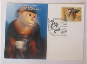 UNO Wien Gefährdeten Arten 1995 Maximumkarte ♥ (14547)