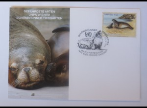 UNO Wien Gefährdeten Arten 1994 Maximumkarte ♥ (69988)