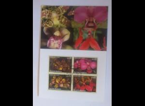 UNO Wien Gefährdeten Arten 2005 Maximumkarte Nr.88 ♥ (2614)