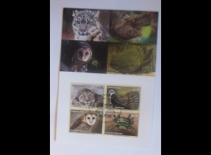UNO Wien Gefährdeten Arten 2012 Maximumkarte Nr.109 ♥ (36132)