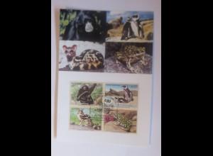 UNO Wien Gefährdeten Arten 2002 Maximumkarte Nr. 73 ♥ (34622)