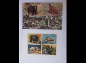 UNO Wien Gefährdeten Arten 2001 Maximumkarte Nr. 67 ♥ (32319)