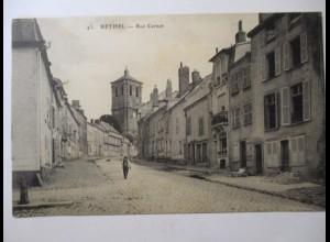 Frankreich, Rethel, Rue Carnot, ca. 1910 (8543)