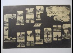Frankreich, Camp de Chalons, Ballon, Militär usw., ca. 1910