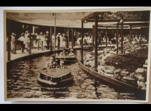 Großbritannien Lowestoft Boating Lake Druck Valentine & Sons (6354)