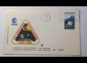 Raumfahrt, Weltraum, USA Nasa Esa Satellite 1977 ♥ (30902)