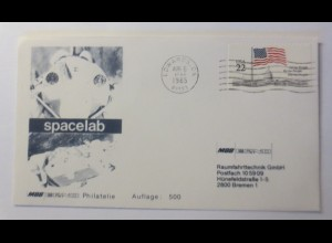 Raumfahrt, Weltraum, Spacelab USA 1985 ♥ (62576)