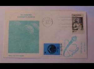 Raumfahrt, Weltraum, Space City Cover Society USA 1973 ♥ (49171)