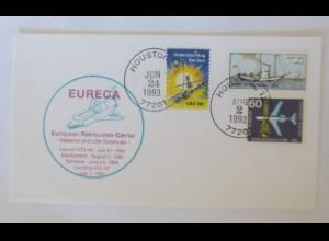 Raumfahrt, Weltraum, Houston USA 1993 ♥ (2212)