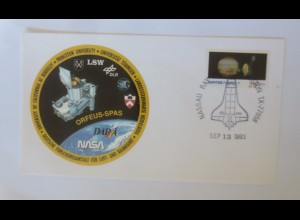 Raumfahrt, Deutsche Forschungsanstalt Universität Tübingen NASA USA1993 ♥(37994)