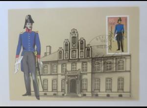 Maximumkarten Historische Postuniformen Preußischer Postbeamter 1985 ♥ (29258)