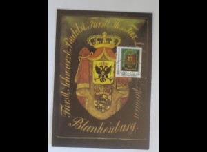 Maximumkarten Historische Posthausschilder 1990 ♥ (41116)