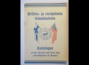Finnland, Vaarnas, Kalle: Erikois ja ensipäivän leimaluettelo Catalogue 1947