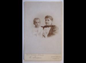 Frau und Kind, Großes Foto, New Yorker Atelier Brouwers, Dortmund