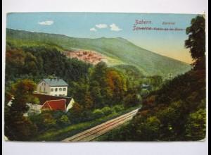Zabern, Zorntal, Eisenbahn, 1916 nach Goldberg