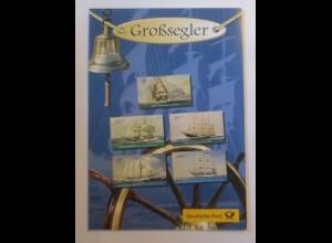 Sonderblatt Großsegler 2005 ♥