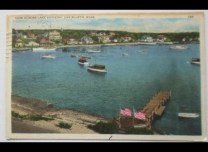 USA, Lake Anthony, Oak Bluffs, Mass., 1934