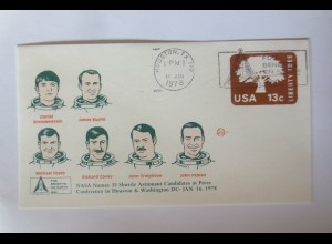Weltraum USA NASA Space Shuttle Astronaut Conference in Houston 1978 ♥ (2908)