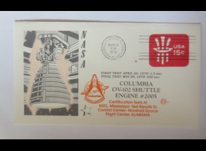 Weltraum USA NASA Space Shuttle Columbia First Test 1979 ♥ (4712)