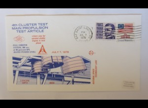 Weltraum USA NASA Space Shuttle National Space Technology Labs 1978 ♥ (30704)