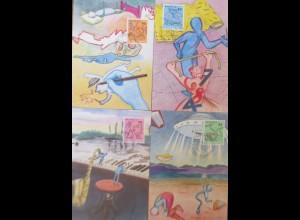 Schweiz, Maximumkarte Musik, Kunst, 1988 ♥ (72572)