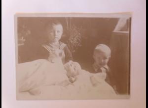 Sachsen Dresden Wohlhabende Familie Kinder Matrose, Foto ca.1900 ♥ (55734)