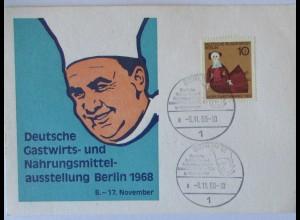 Koch Küche, Gastwirts - und Nahrungsmittel Ausstellung Berlin 1968 (37454)