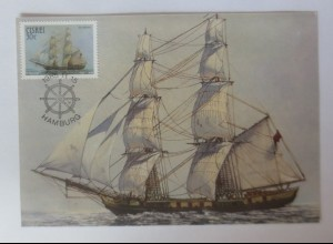Maximumkarten Ciskei Hamburg Segelschiff 1985 ♥ (29029)