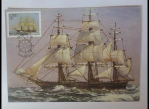 Maximumkarten Ciskei Hamburg Segelschiff 1985 ♥ (16983)