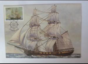 Maximumkarten Ciskei Hamburg Segelschiff 1985 ♥ (39826)