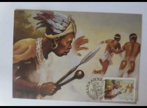 Maximumkarten Ciskei Folklore Afrikaner 1987 ♥ (60829)