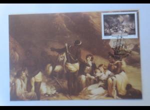 Maximumkarten Transkei Shipwerck der Grosvenor 1988 ♥ (22313)