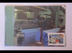 Maximumkarten Transkei Deckenfabrik 1988 ♥ (26514)
