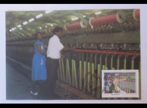Maximumkarten Transkei Deckenfabrik 1988 ♥ (24321)