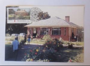 Maximumkarten Transkei Post in Transkei 1984 ♥ (53026)