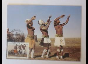 Maximumkarten Transkei Traditionelle Sitte 1984 ♥ (58666)