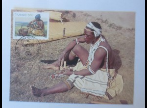 Maximumkarten Transkei Traditionelle Sitte 1984 ♥ (14110)