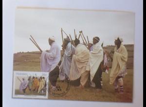 Maximumkarten Transkei Traditionelle Sitte 1984 ♥ (9099)