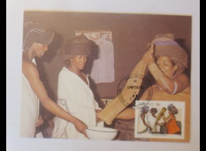 Maximumkarten Transkei Traditionelle Sitte 1984 ♥ (60763)