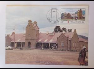 Maximumkarten Transkei Post in Transkei 1983 ♥ (32090)