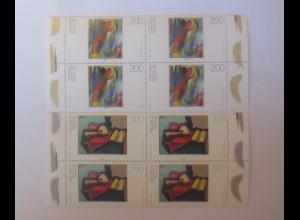 Deutschland Georg Muche Helmut Kolle 1996 2 x Viererblock xx ♥ (6858)