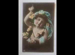 Geburtstag, Kinder, Mode, 1905, Oranotypie ♥ (9994)